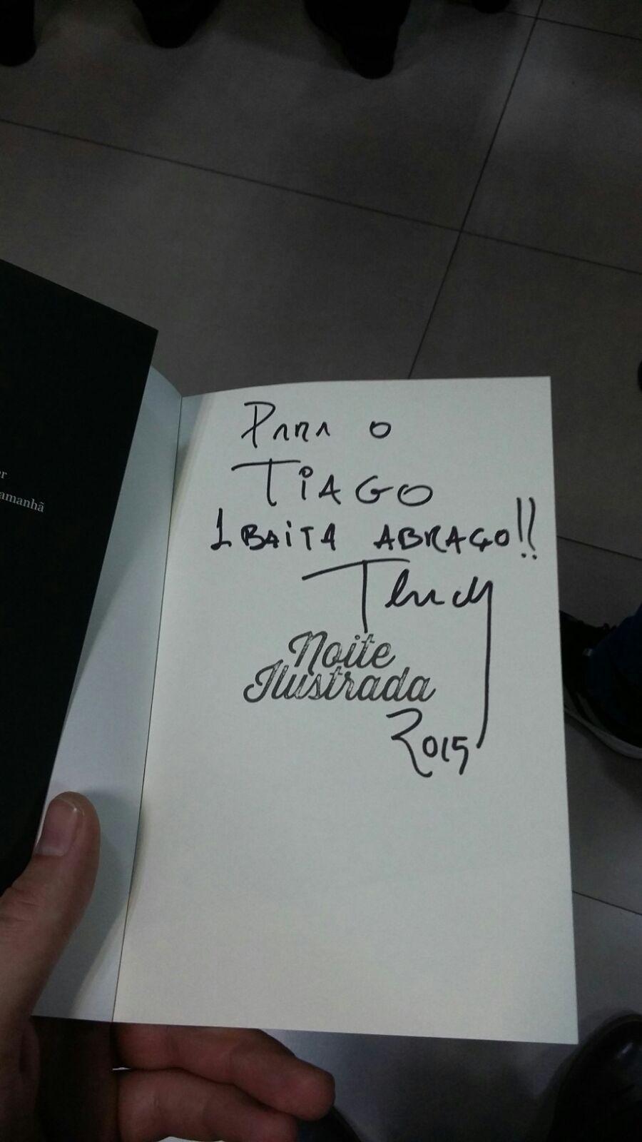 Assinatura livro Thedy